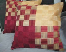 """Weaving Texture Cushion Cover  - Set of 2 - 16""""X16"""""""
