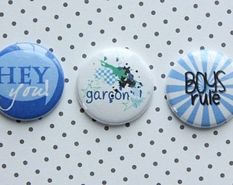 "3 badges 1 ""boy"