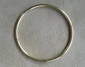 1 Dreamcatcher Brass rings Solid 1 x 2.5 inch (63mm) diameter.