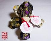 Embroidered Flower yoga mat slings