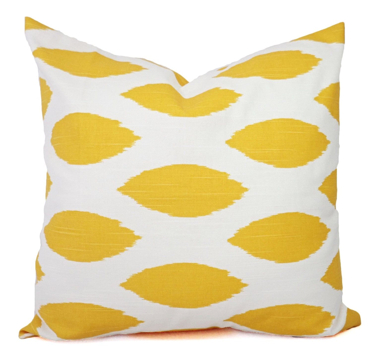 Throw Pillow Yellow : Yellow Throw Pillow Yellow and White Pillow Covers Yellow