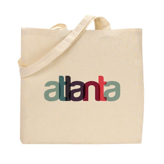Atlanta Wedding Gift Bag Ideas : ... Tote Bag Atlanta Gift Atlanta Wedding Gift Atlanta Wedding Favor
