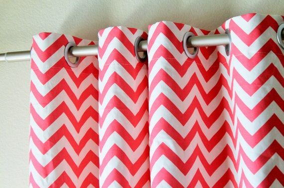 Navy And White Blackout Curtains Cheap Chevron Curtains