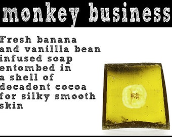 Monkey Business Soap. Fair Trade Organic Vegan Cruelty-Free Cosmetics. 5% of Proceeds Proudly Go To Grassroots Charities