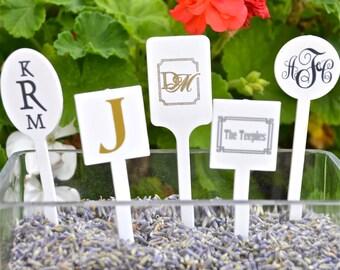 Personalized Plastic Drink Stir Sticks, Monogrammed Drink Stirrers, Custom Swizzle Sticks, Wedding Stir Sticks, Baby Shower, Bridal Shower