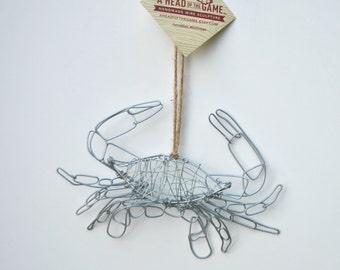 Crab  Wire Ornament