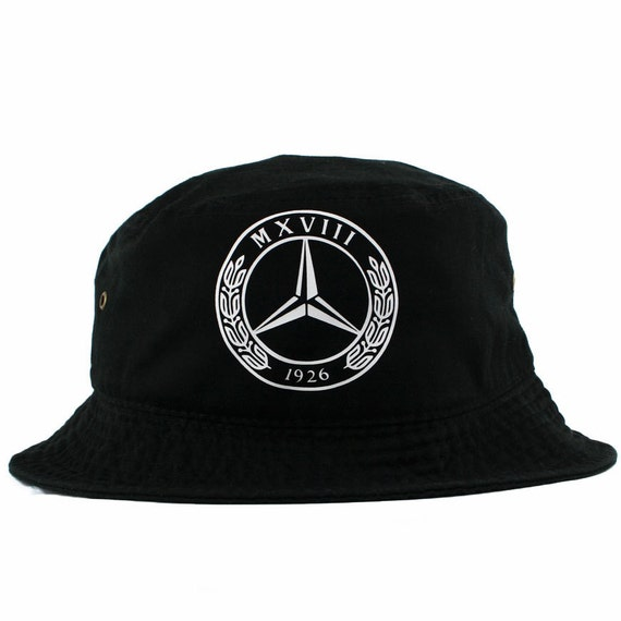 Vintage mercedes benz bucket hat by agorasnapbacks on etsy for Mercedes benz caps hats