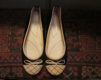 Womens Bellofato Patent Pumps Made In Italy  Size  7B.
