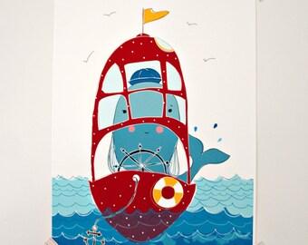 Print - All Aboard-