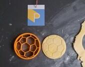 Soccer ball cookie cutter...