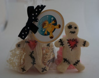 Voodoo Doll  Favors -(Set of Ten)- Halloween Soap--Class Favors