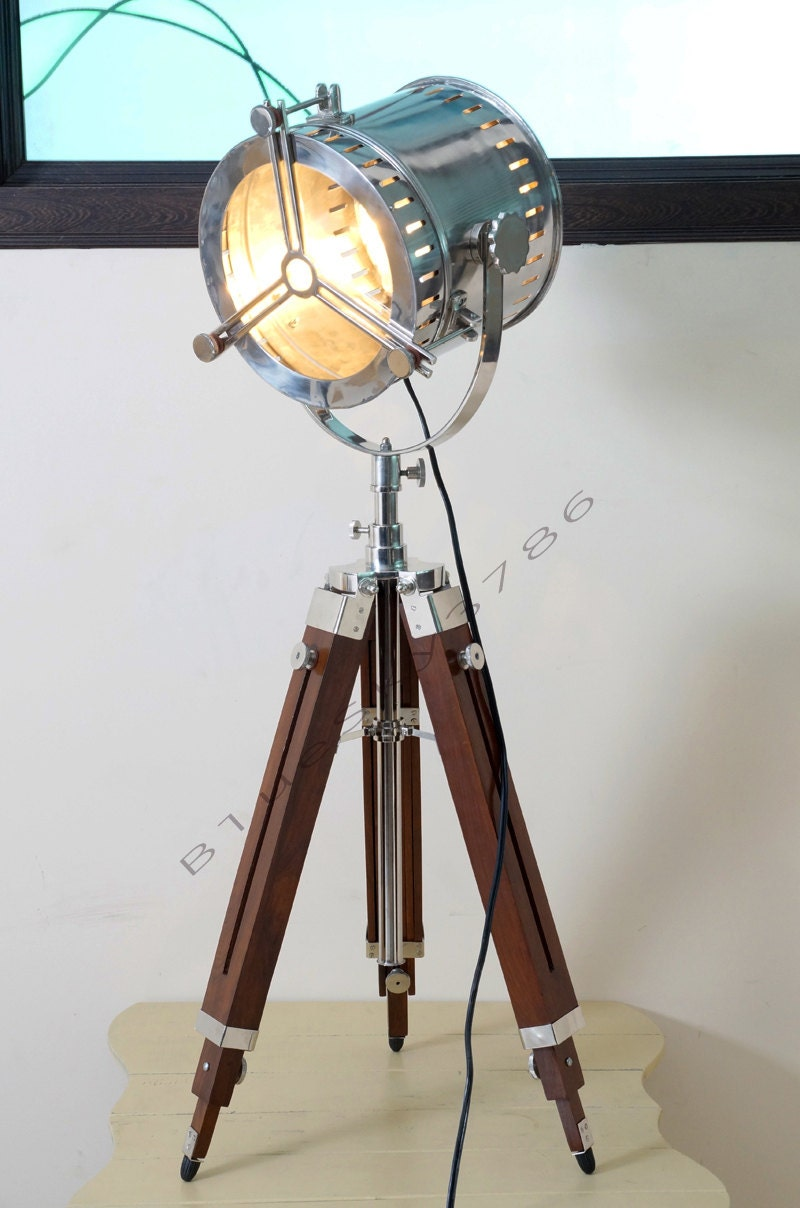 Nautical Vintage Industrial Theater Stage Spotlight By
