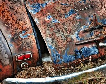 Rusty Chevy 8x10 print