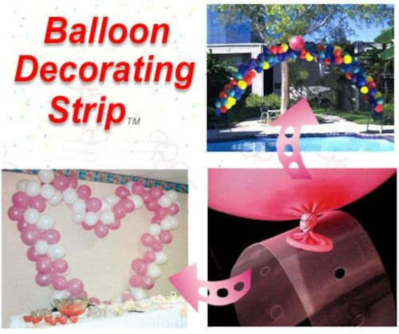 To balloon arch decorator strip for party wedding event decoration