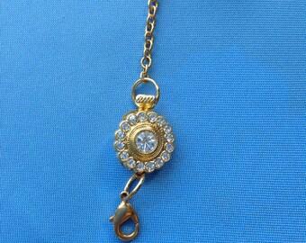 Extender, Gold Tone, Bracelet or Necklace,  6.35 in, 161 mm