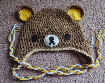 Crochet Pooh Bear Hat Pattern : CROCHET RILAKKUMA AMIGURUMI ? Only New Crochet Patterns