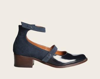 STYLE 1928 Blue Shoe