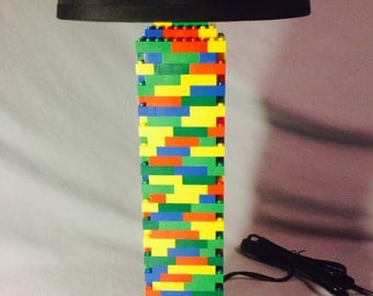 LEGO® Lamp - Extra Large Multicolored Rainbow