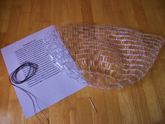 Unavailable listing on etsy for Replacement fishing net