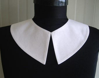 Wednesday Addams Detachable collar , Madonna erotica costume ,Pilgrim Costume, white detachable collar