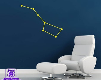 Big Dipper Constellation Wall Decal