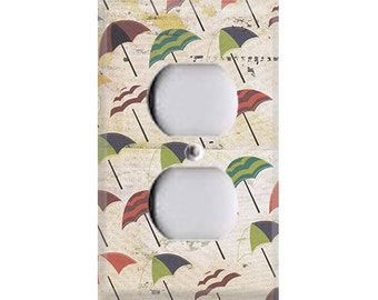 Boardwalk Collection - Umbrellas Outlet Cover