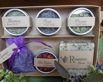 cadeau pour le jardinier jardinage kit d butant par thegiftedtomato. Black Bedroom Furniture Sets. Home Design Ideas
