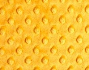 Standard Half or Fat Half - Mango Dimple Dot Minky by Shannon Fabrics