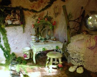 Fairy House  Ooak  (Enchanted Bunny Hollow)