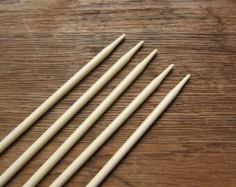 BrySpun knitting needles, 7.5 inch double point, set of 5, sizes 2 - 11