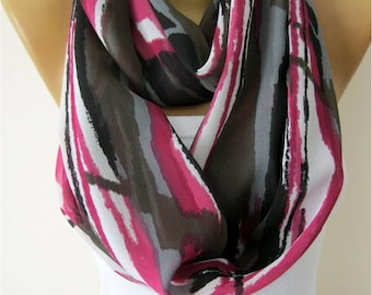 SALE ! 9,90 USD -Infinity Scarf Shawl Circle Scarf Loop Scarf ,Gift scarf-Fashion accessories- for her- christmas gift