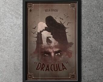 Original Giclee Art Print 'Horror Classics - Dracula'