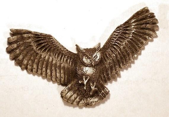 new Design Great Horned Owl       Flying Tiger   Flying Horned Owl Tattoo