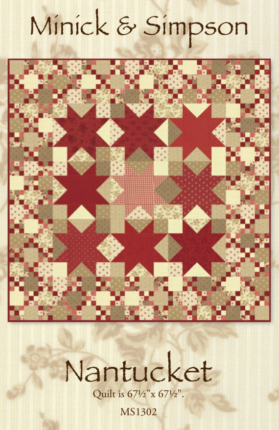 Nantucket Quilt Pattern By Minick And Simpson Download