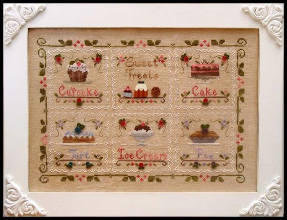 country cottage needleworks sweet treats counted
