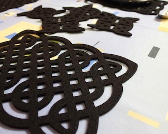 Celtic Knot   Table Mats Placemats set of 4 pieces