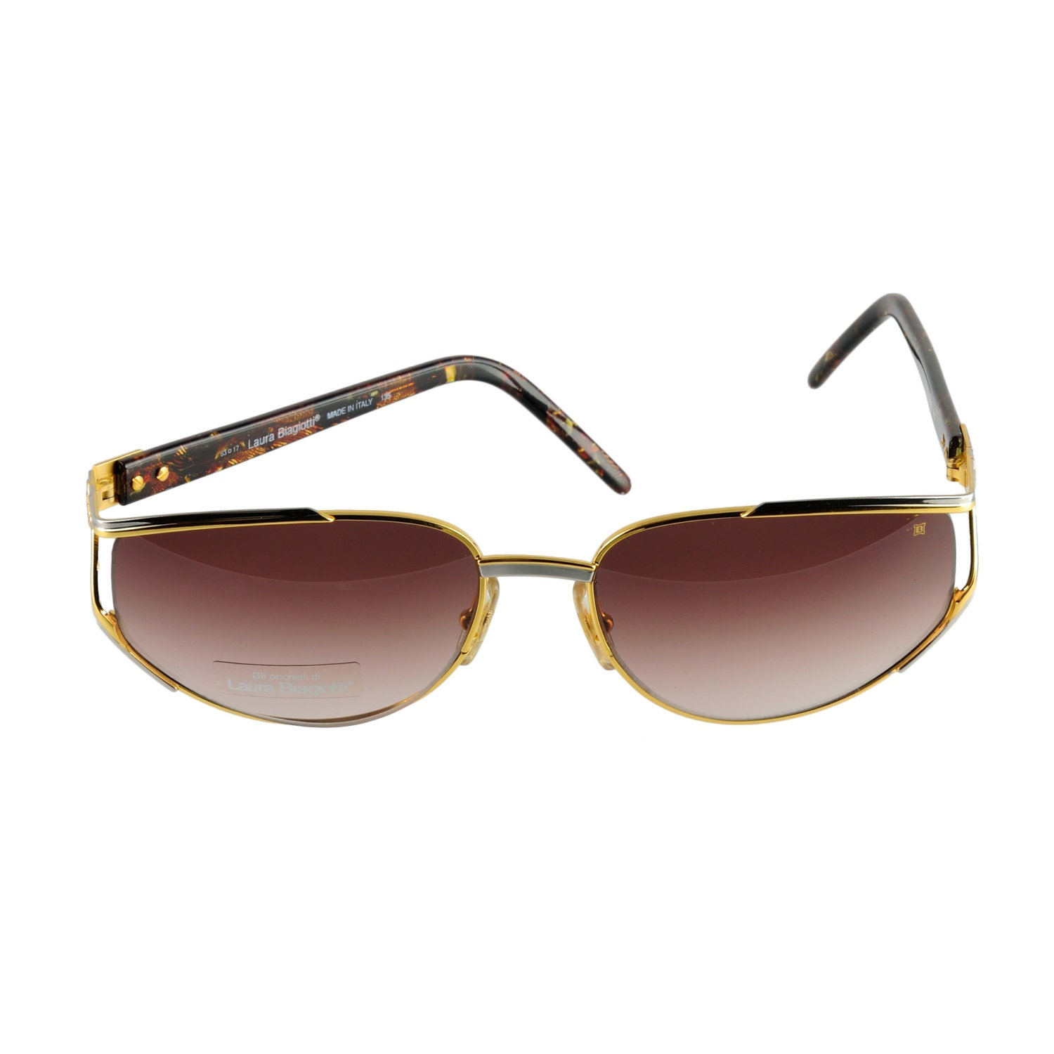 Laura Biagiotti Sunglasses LB 686/S RT3 63-17-135 Made in