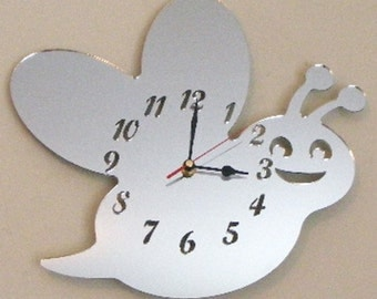 Bumble Bee Clock Mirror - 2 Sizes Available