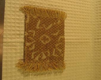 Miniature Decorative Throw Rug