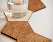 8 Wooden Coasters