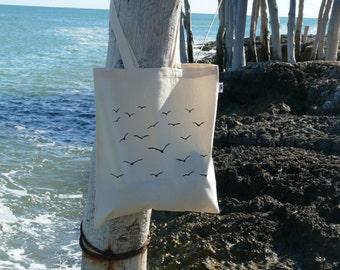 "Cotton bag ""seabird"""