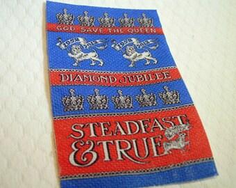 Steadfast & True Miniature Tea Towel for Dollhouse 1:12 scale
