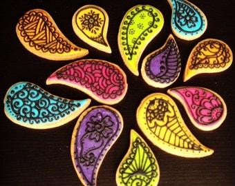 Paisley Cookies