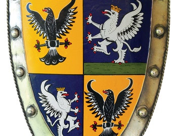 Life Size Shield With Coat Of Arms
