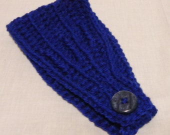 Bright Blue Earwarmer/Headband