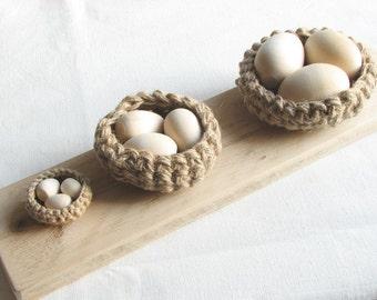 Rustic birds nests / wedding / Easter decor