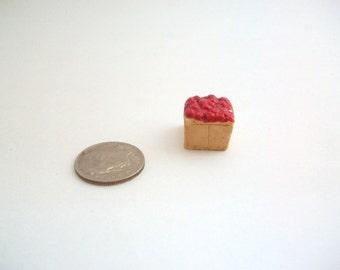 Miniature Strawberries, Dollhouse Strawberries, Pint of Strawberries, Miniature Fruit, Dollhouse Fruit, Miniature Cherries, Miniature Food