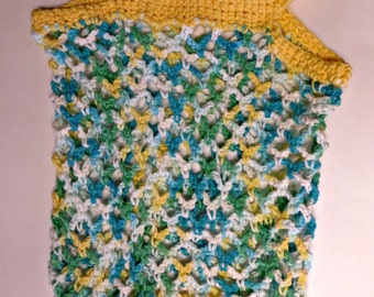 Crochet Shopping/Beach/Anything Bag Yellow