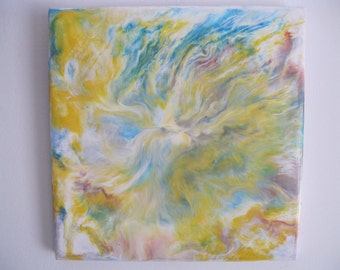 Original Encaustic Painting - Softly