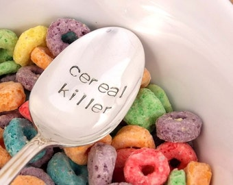stocking stuffers for teens, teen christmas, gifts for teen boys, christmas gifts for teens, cereal killer spoon
